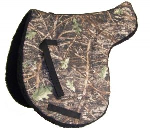 Camouflage English All Purpose Fleece Back Pad, english, all purpose, saddle pad, Triple E Manufacturing