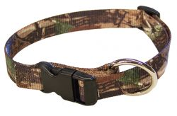 REALTREE® CAMOUFLAGE ADJUSTABLE DOG COLLAR 20″ – 28″, camouflage, dog, collar, adjustable, Triple E Manufacturing