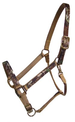 Realtree Triple E Nylon Draft Adjustable Halter, MB