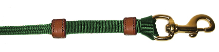 SOFT & DURABLE DOUBLE-BRAIDED 12′ NYLON ROPE LEAD, double-braid, nylon, rope, lead, Triple E Manufacturing