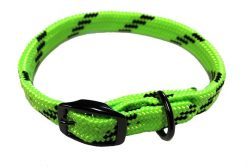 DOG COLLAR, 7/8″ SOFT TOUCH FLAT BRAID, dog collar, soft braid, Triple E Manufacturing
