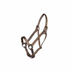 Parker Adjustable Halter, squares, snaps, Triple E Manufacturing