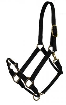 specialty combination halter, halter, nylon, soft braid, Triple E Manufacturing