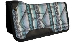 "Contoured Southwest Comfort Grip Pony Saddle Pad, saddle pad, comfort grip, southwest, pony, 26""x26"", Triple E Manufacturing"