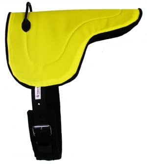 Mini Bareback Pad - Yellow